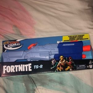 NEW Fort Nite Nerf Super Soaker Water Gun